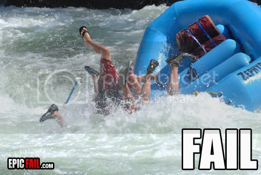 FAILS, For Ever Alone, FUck Yeah Water-rafting-fail-copy