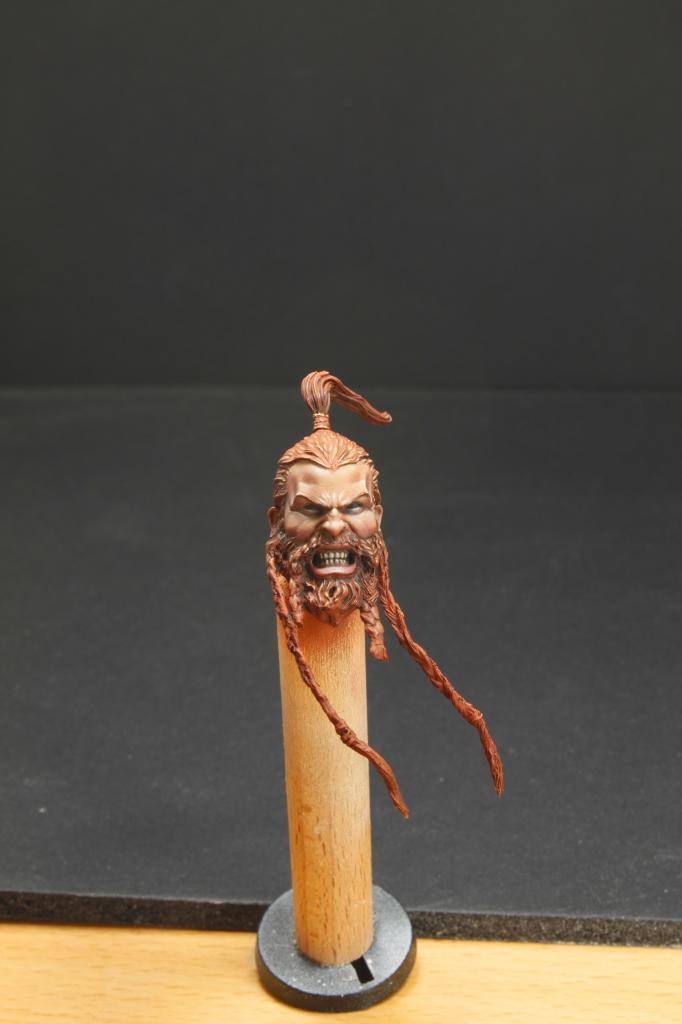 Buste Space Wolf Sculpté par Freeman Visage2_zpsbea94df1