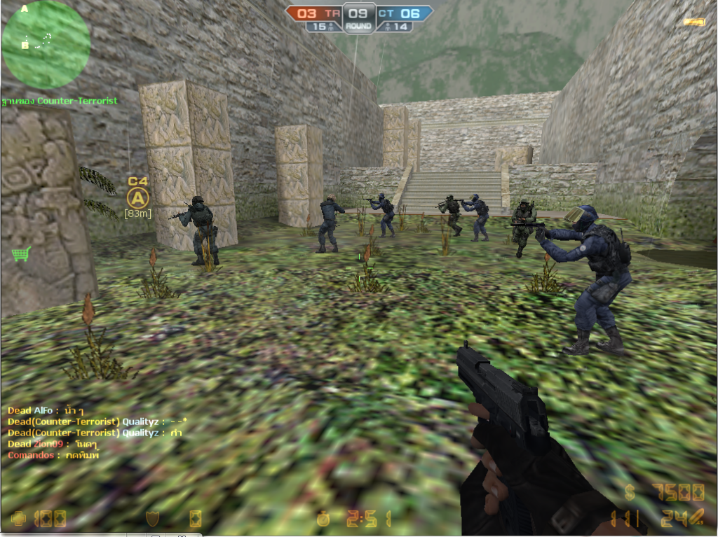 Counter Strike Online เปิดแล้วคับ คนอย่างเยอะ 1cc6e12d