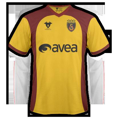Camisetas Galatasaray 1 y Reserva GalatasarayHome