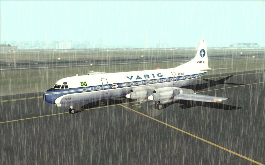 Última Ponte-Aérea Electra II da Varig... -2012-jul-17-013