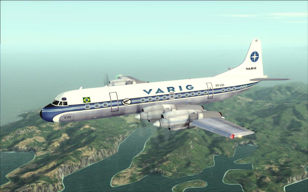 Última Ponte-Aérea Electra II da Varig... -2012-jul-17-021
