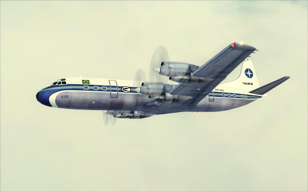 Última Ponte-Aérea Electra II da Varig... -2012-jul-17-022