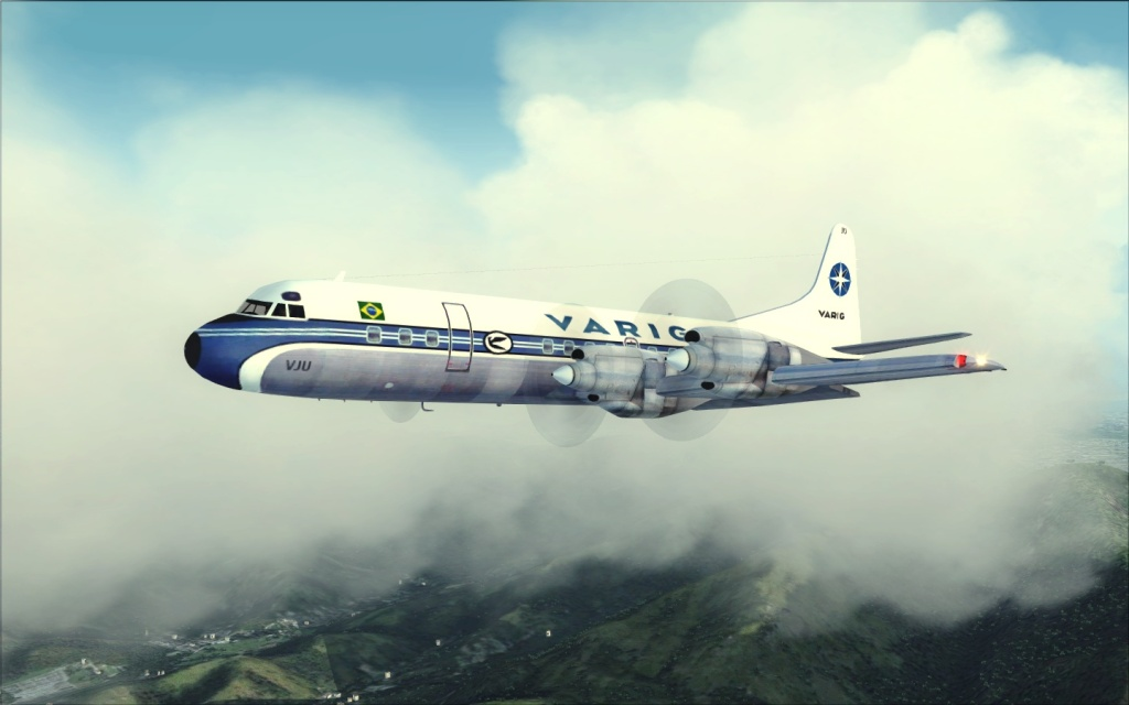 Última Ponte-Aérea Electra II da Varig... -2012-jul-17-024