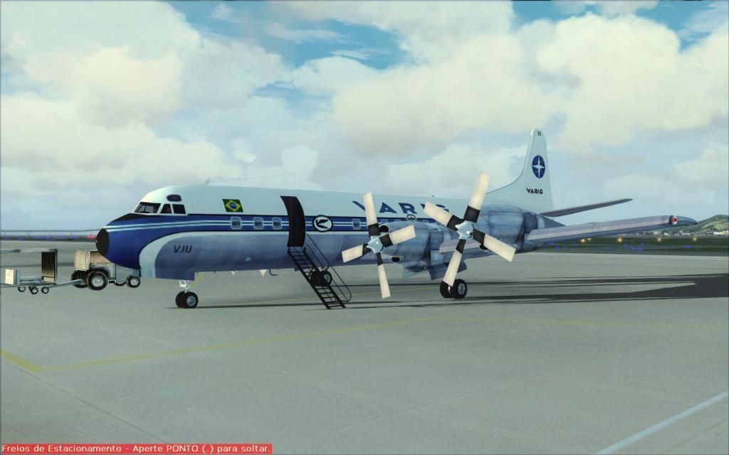 Última Ponte-Aérea Electra II da Varig... -2012-jul-17-031