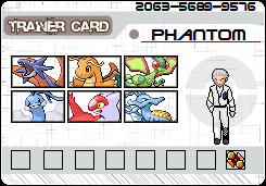 The Gym Leaders / Elite Four Dragontrainercard
