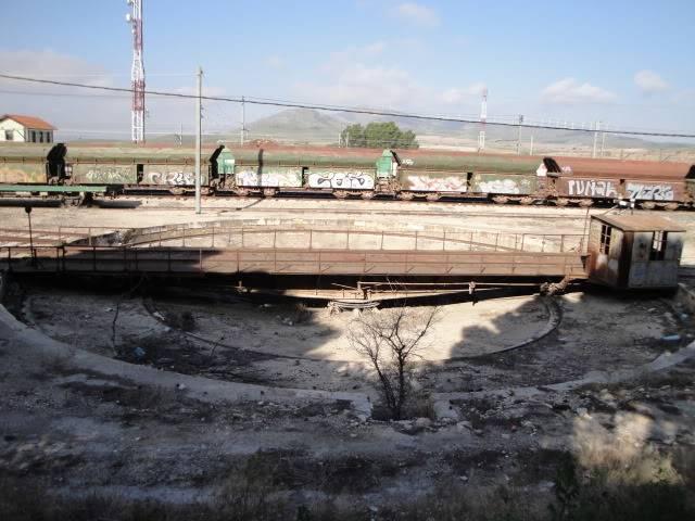 Canviador a Cartagena (Voltants) Trenes2