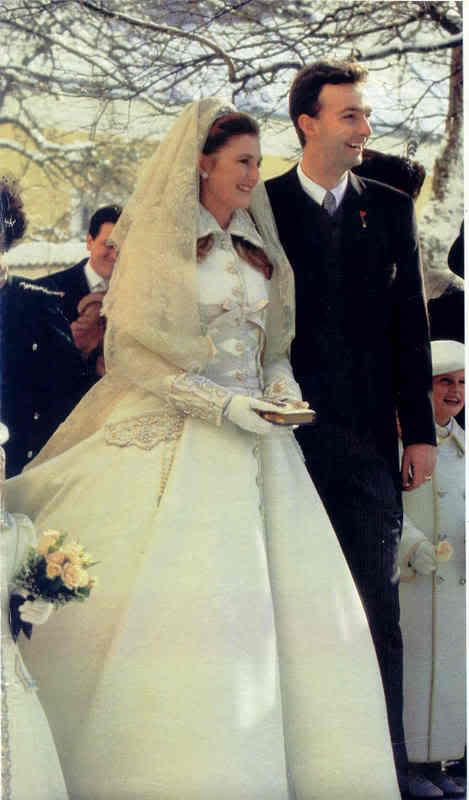 Karl von Habsburg y Francesca Thyssen-Bornemisza Brideandgroom8hh