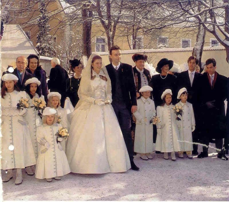Karl von Habsburg y Francesca Thyssen-Bornemisza Familyphoto17ji