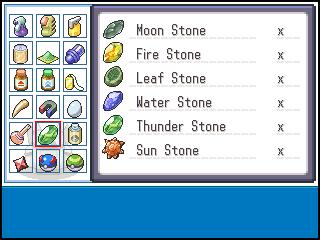 احجار البوكيمون  0BagStones