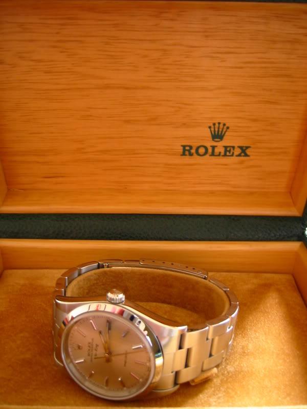 Les montres d'EdouardG... RolexAirKing
