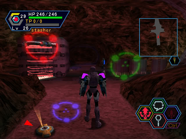 PSO PC/ V1&V2 Screenshot Gallery! DoorSymbols