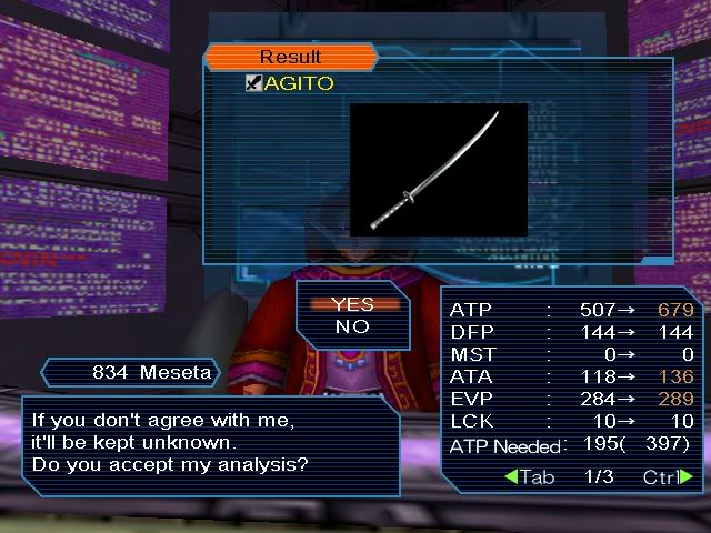 PSO PC/ V1&V2 Screenshot Gallery! Pso_image_065