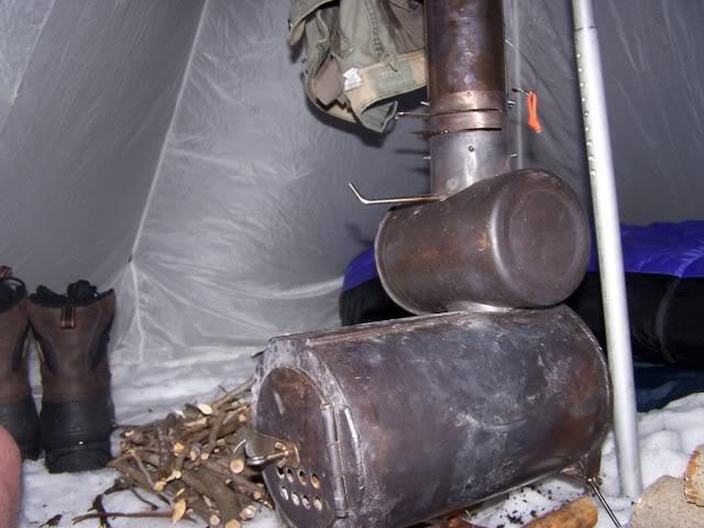 poele/rechaud bois avec matos de recup 100_4488