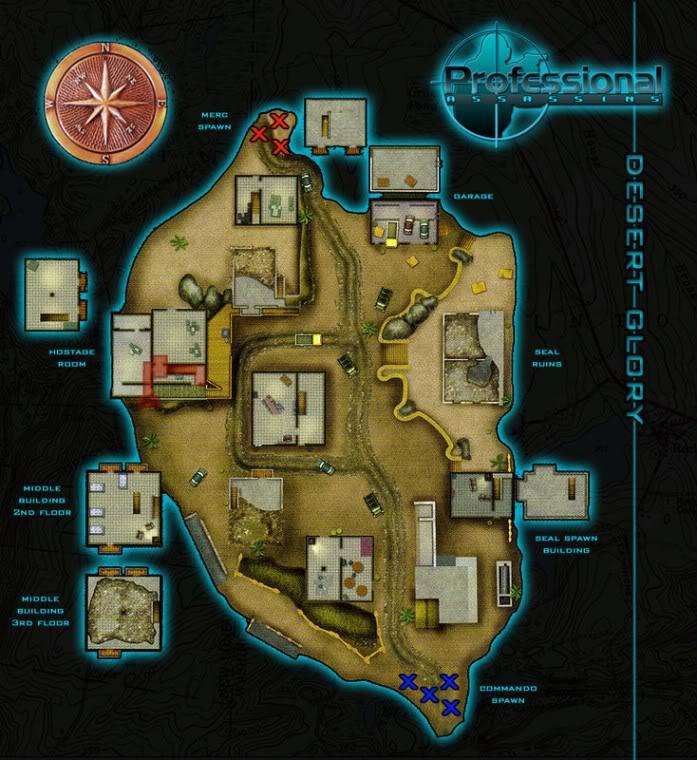 Blueprints of Maps DesertGlory