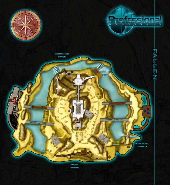 Blueprints of Maps Fallen