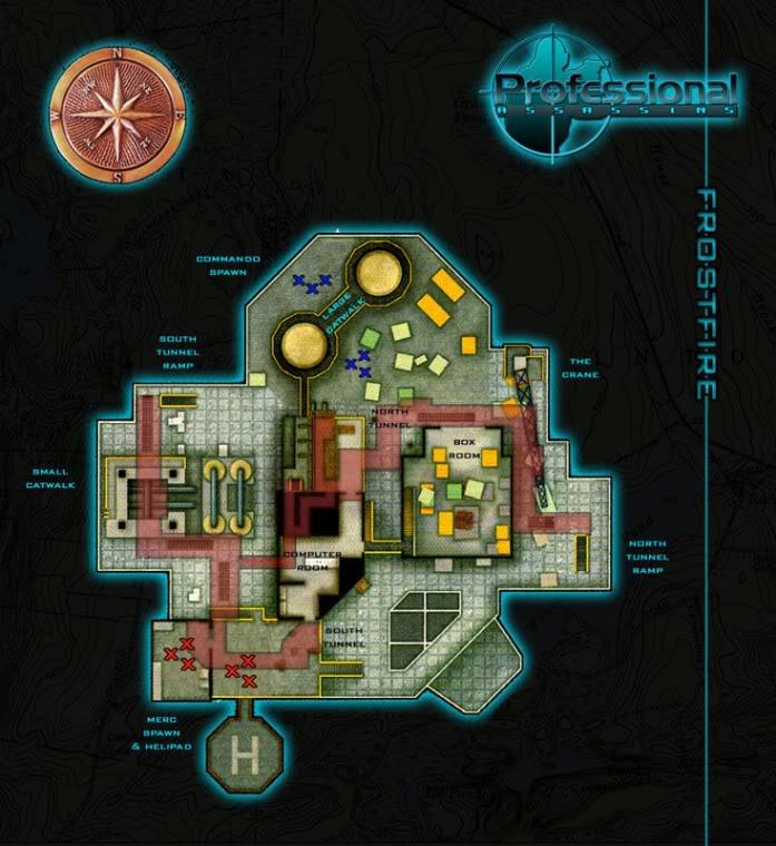 Blueprints of Maps Frostfire