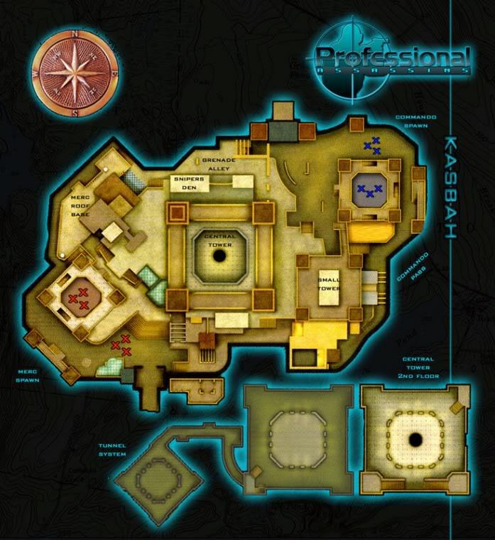 Blueprints of Maps Kasbah