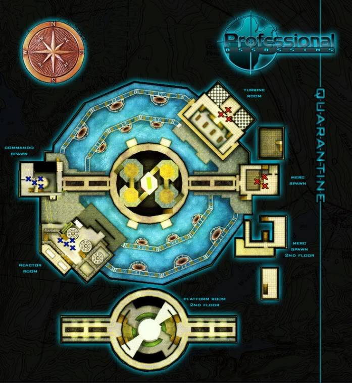 Blueprints of Maps Quarantine
