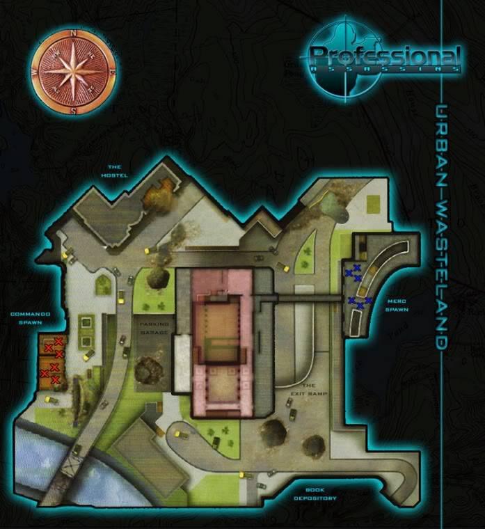 Blueprints of Maps UrbanWasteland