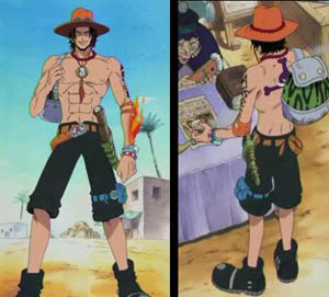 Cosplay One Piece Portgas_d_ace_03