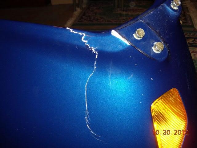 fiberglass fairing repair? Fairing011