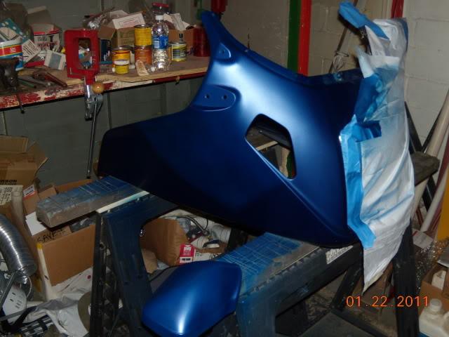 fiberglass fairing repair? Fairingpaint004