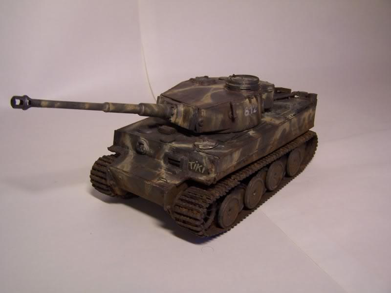 """Tigre I """"tiki""""   ---   Tigre II  [???]   -Rom1- 101_1191"""