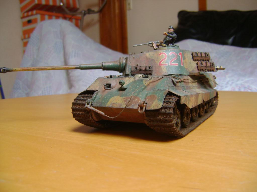 """Tigre I """"tiki""""   ---   Tigre II  [???]   -Rom1- DSC01037"""