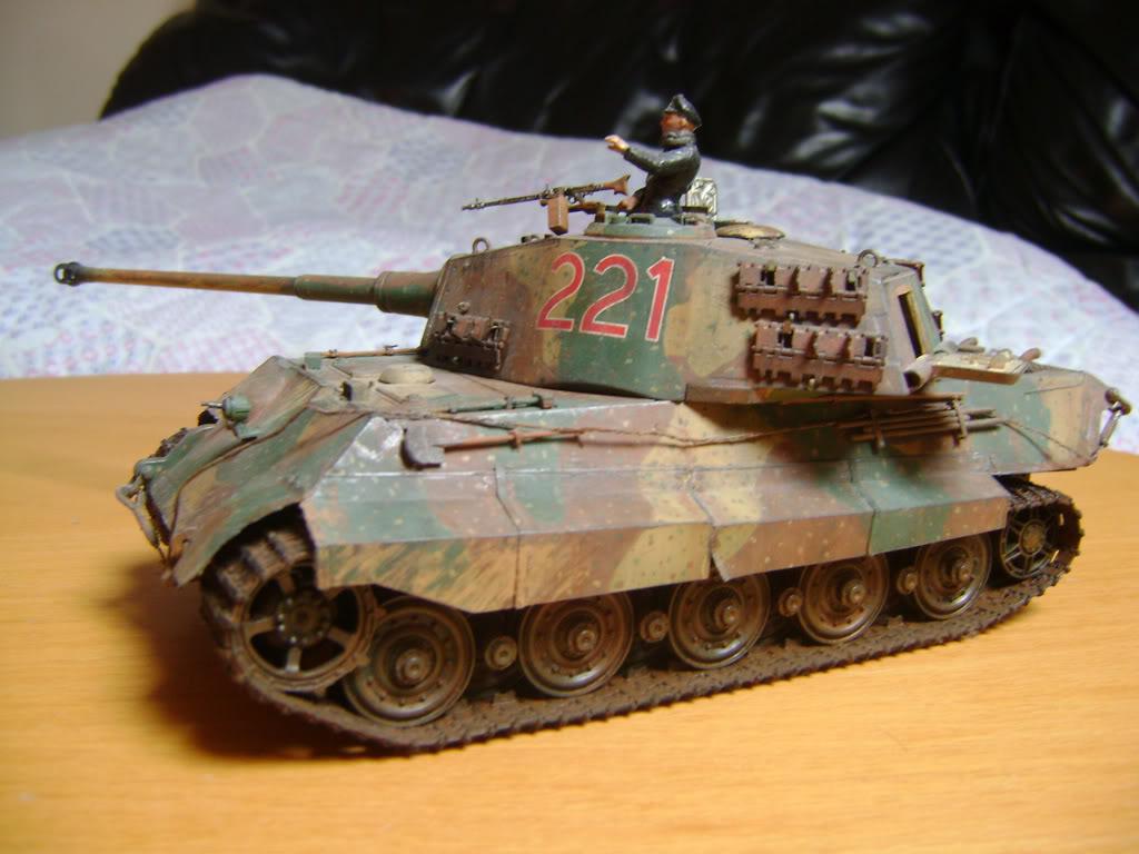 """Tigre I """"tiki""""   ---   Tigre II  [???]   -Rom1- DSC01038"""