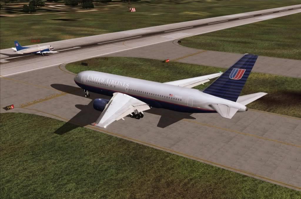 [FS9] - UA 77 - O vôo que não terminou UA77aguardando
