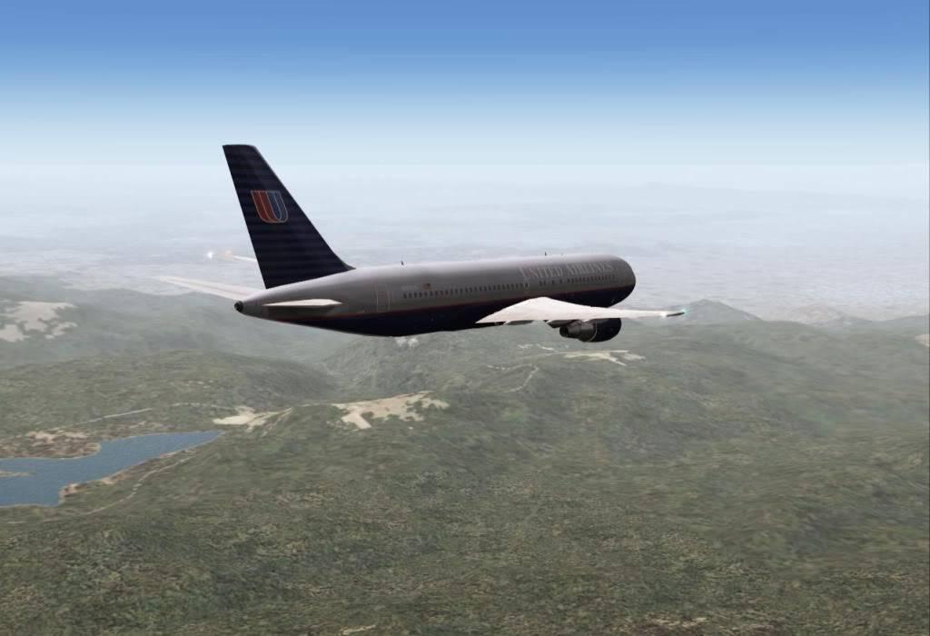 [FS9] - UA 77 - O vôo que não terminou UA77descendo