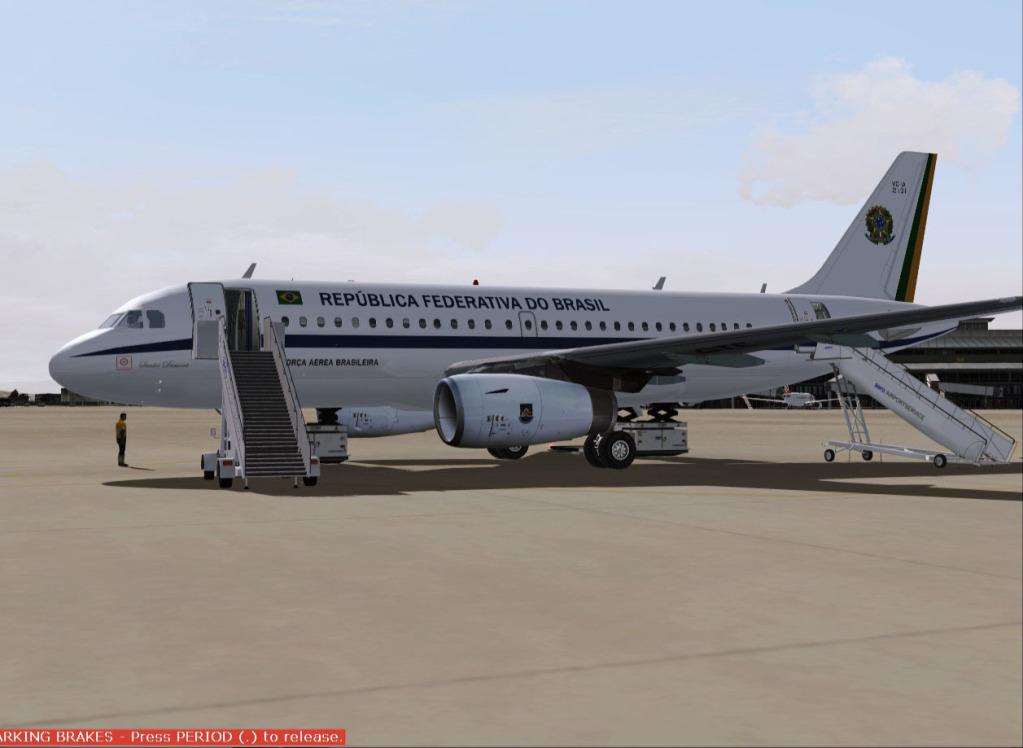 [FS9] Airbus A319CJ - Aero Dilma 1