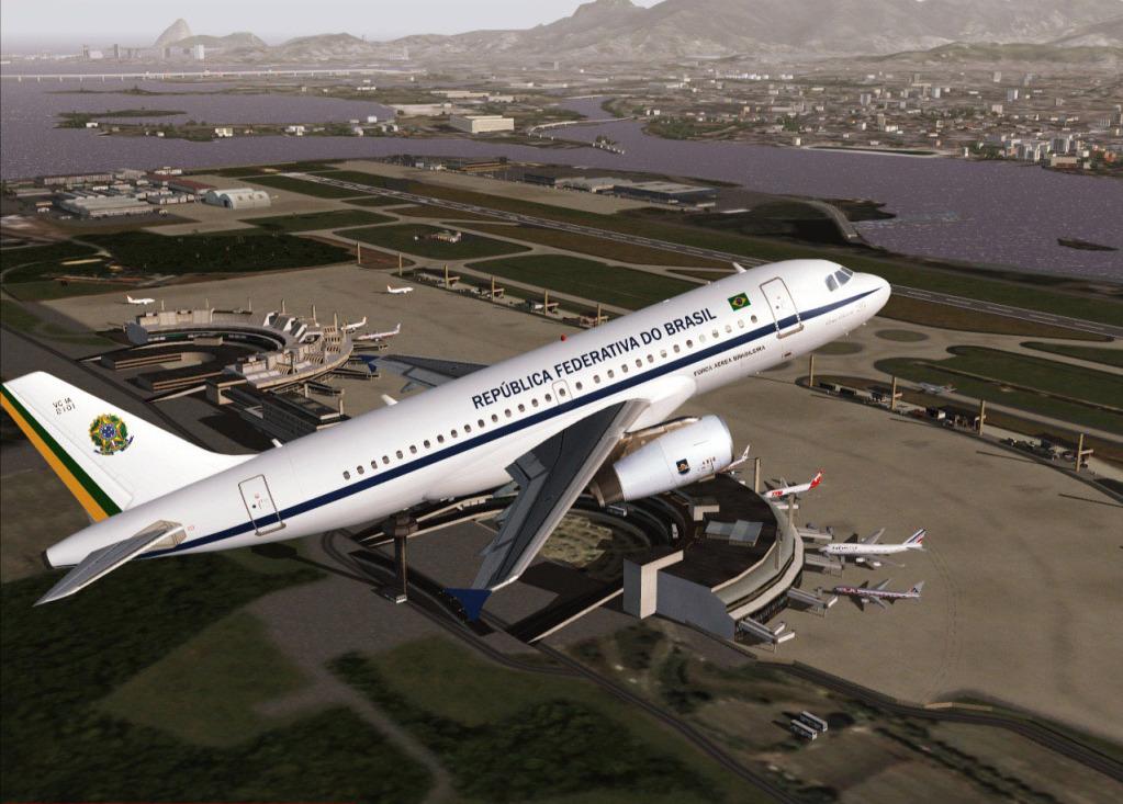 [FS9] Airbus A319CJ - Aero Dilma 10