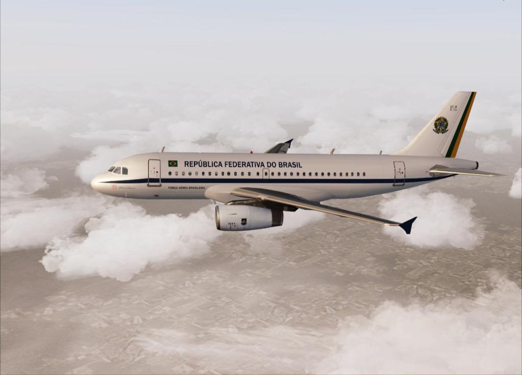 [FS9] Airbus A319CJ - Aero Dilma 12