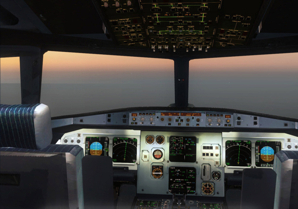 [FS9] Airbus A319CJ - Aero Dilma 13