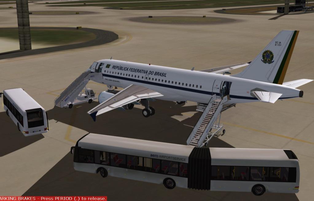 [FS9] Airbus A319CJ - Aero Dilma 3