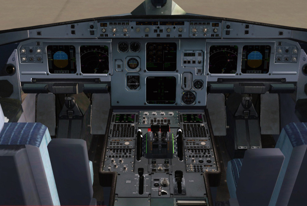 [FS9] Airbus A319CJ - Aero Dilma 5