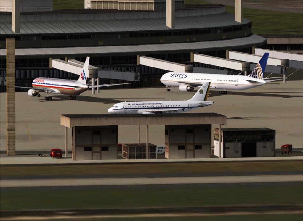 [FS9] Airbus A319CJ - Aero Dilma 6