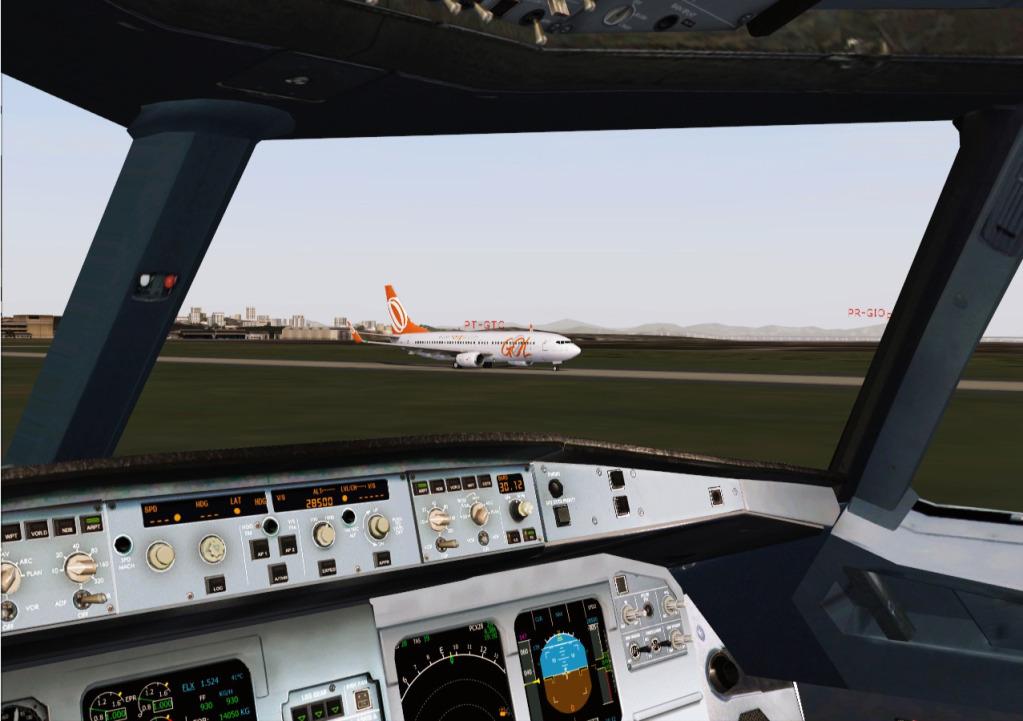 [FS9] Airbus A319CJ - Aero Dilma 8