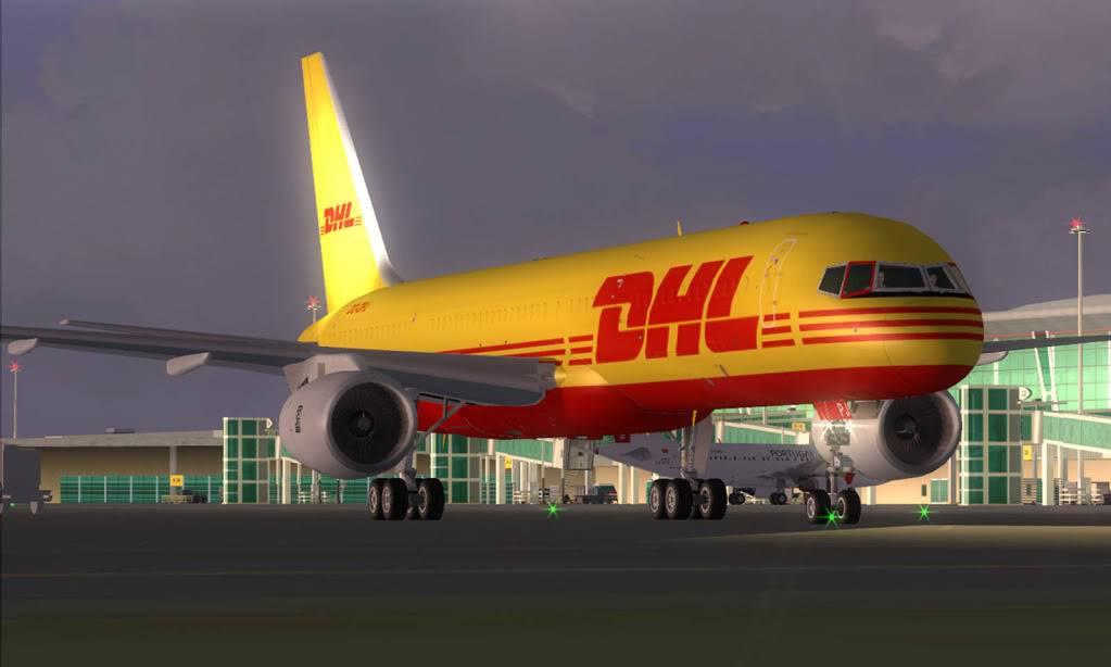 [FS9] Grandes Cargueiros 757-700DHL