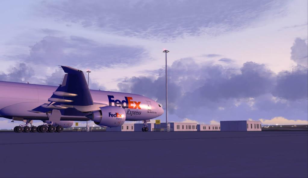 [FS9] Grandes Cargueiros AirbusFEDEX