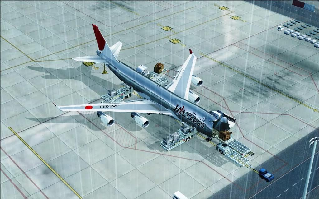 [FS9] Grandes Cargueiros Boeing747-400F-JAL