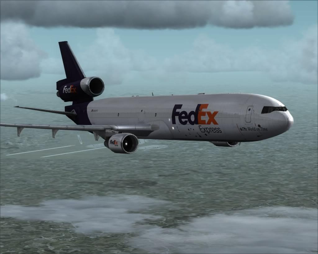 [FS9] Grandes Cargueiros MD11-FEDEX