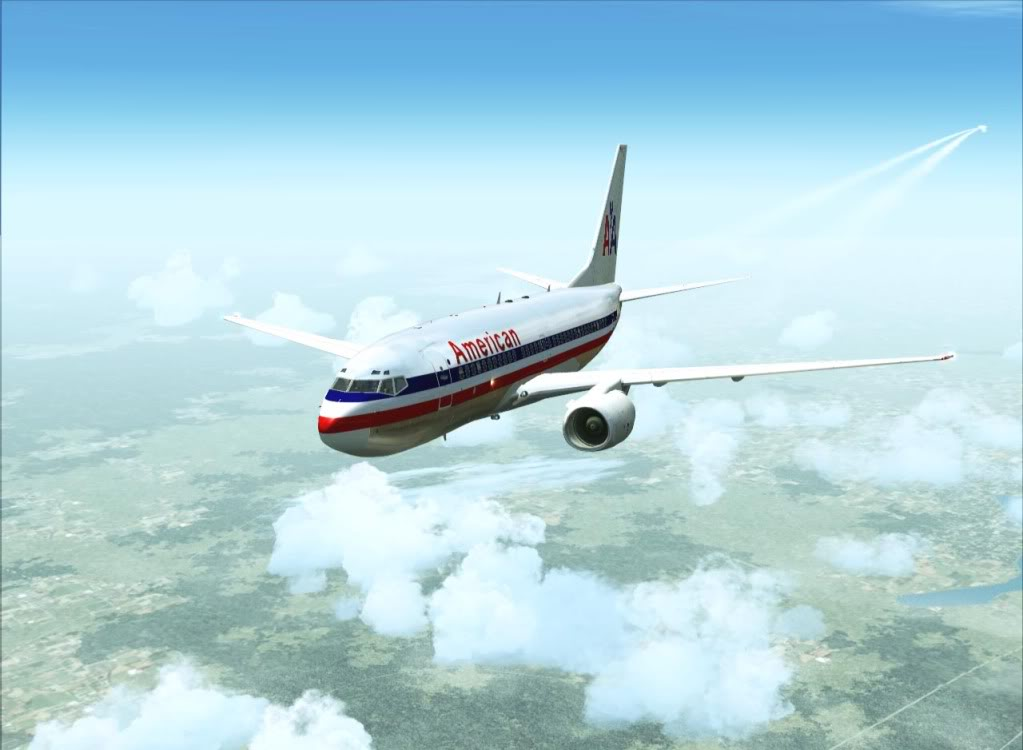 [FS9] - Quase um voo para Barcelona AmericanAirlines