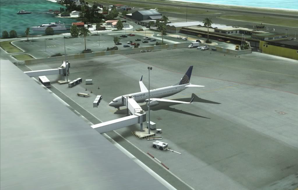 [FS9] Um voo entre Palm Beach - Princess Julian (KPBI-TNCM) Nogate