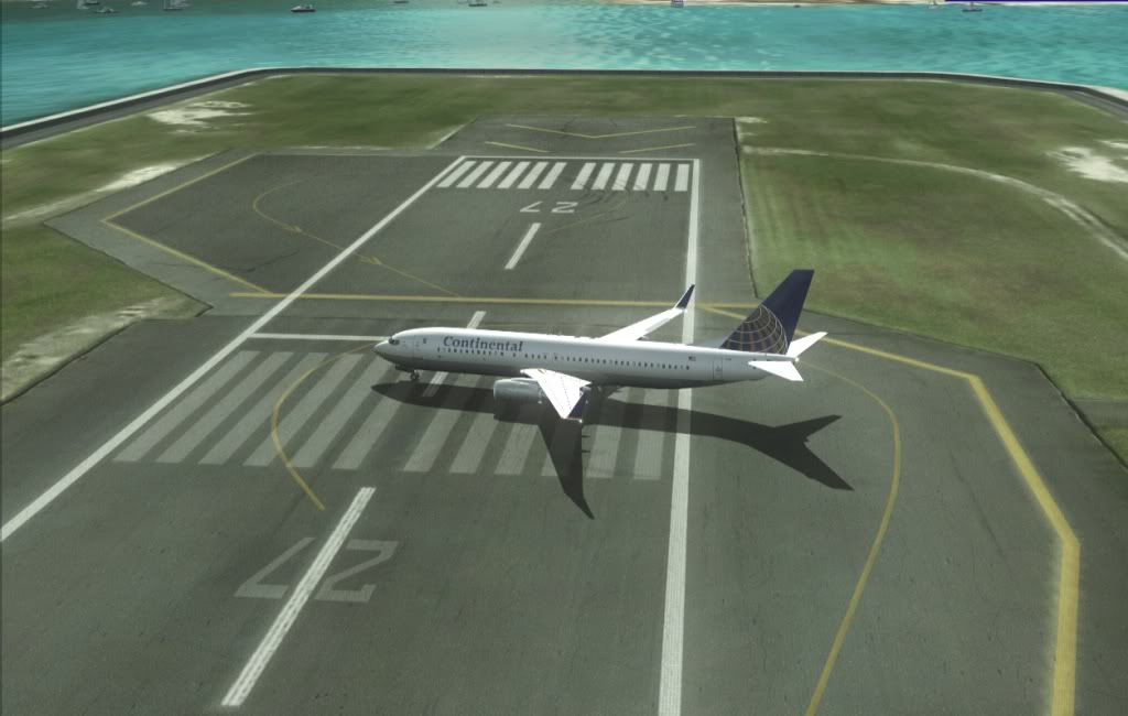 [FS9] Um voo entre Palm Beach - Princess Julian (KPBI-TNCM) Taxiandoparagate