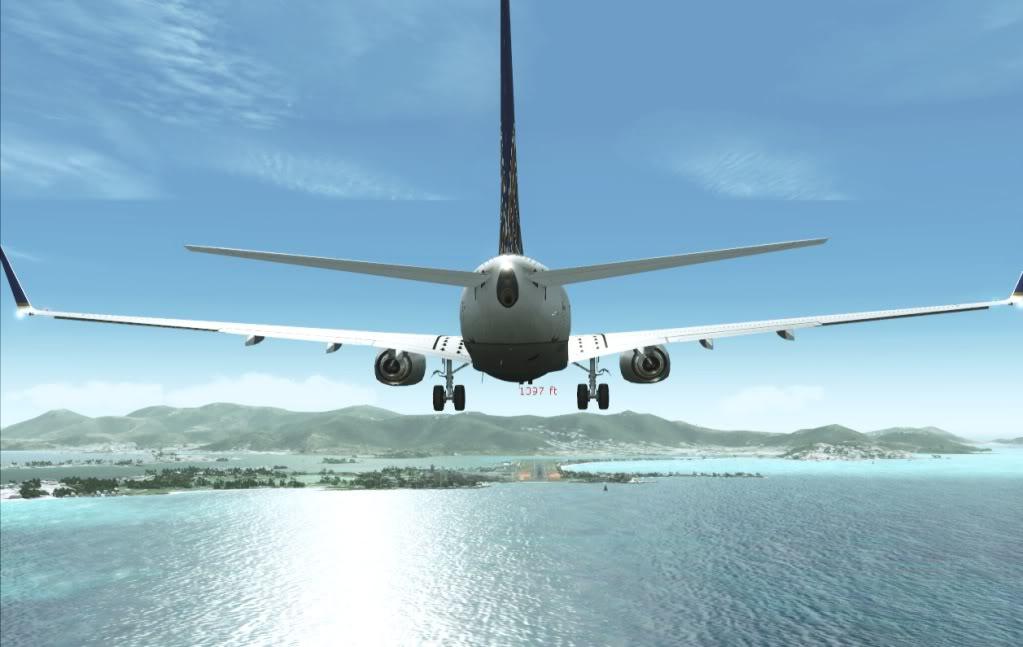 [FS9] Um voo entre Palm Beach - Princess Julian (KPBI-TNCM) Travadoprapouso