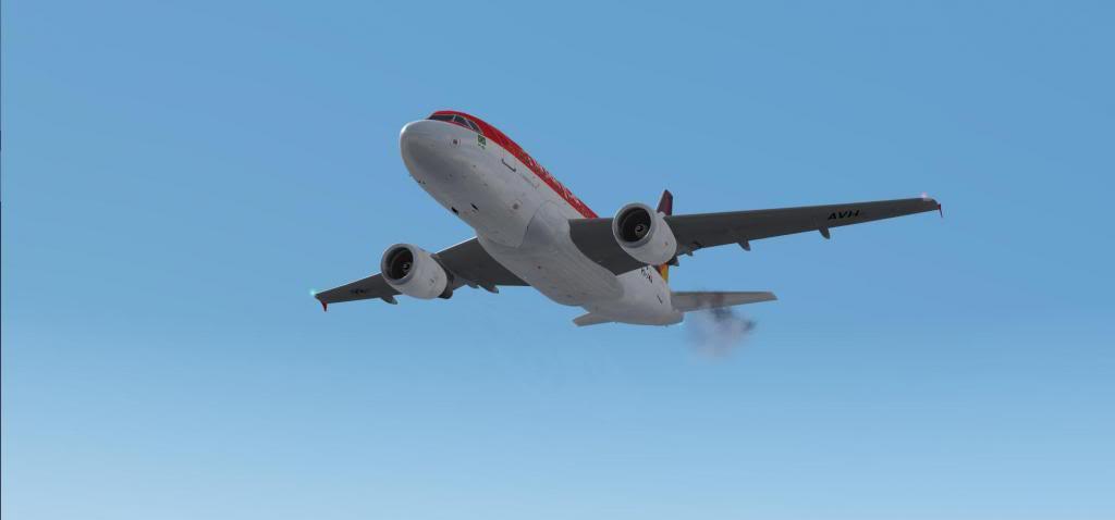 Tragédia A318 SBRJ-SBPA Reiniciandomotor