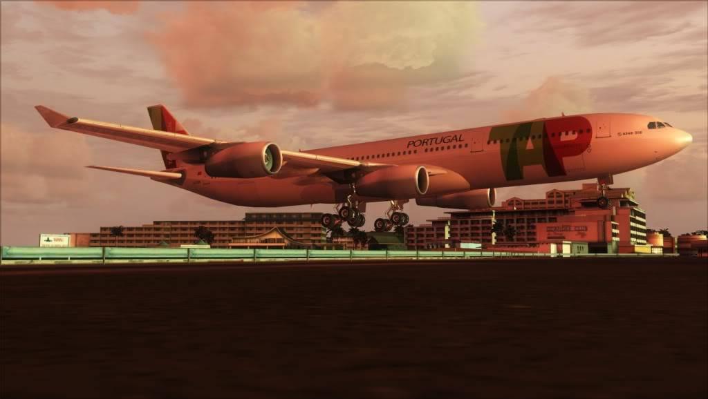 [FS9] Variadas AirbusA340TAP-TNCM